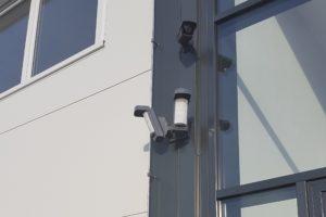 Venkovní snímače pohybu PIR a kamera CCTV